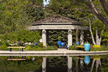 Water Garden Gazebo Wedding & Event Rental Site